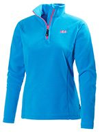 Helly Hansen W Daybreaker 1/2 zip Fleece, blå