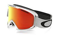 Oakley O2 XM, Matte White, Fire Iridium