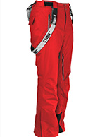 DIEL Anton ski-bukser, mænd, rød