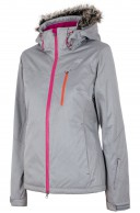 4F Natalie skijakke, grå, dame