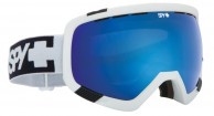 Spy+ Platoon Ski Goggle, White, Blue contact