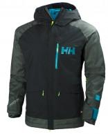 Helly Hansen Fernie skijakke, herre, stormy green
