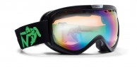 Demon Raptor skigoggle OTG, Mat Sort