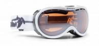 Demon Bubble skigoggle OTG,  Hvid/grå