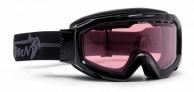 Demon Top skibriller, Fotokromisk linse, Sort