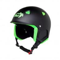 Demon Action skihjelm, sort/grøn