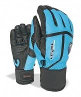 Level Off Piste Leather, handsker, blå
