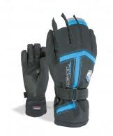 Level Heli JR, handsker, sort/blå