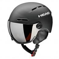 HEAD Knight skihjelm m. visir, sort