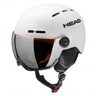 HEAD Knight skihjelm m. visir, hvid