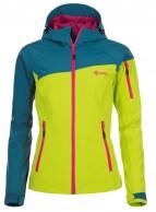 Kilpi Safira, softshell skijakke, dame, turkis