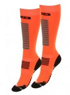 Seger Zone, skistrømper til herre, 2-par, orange