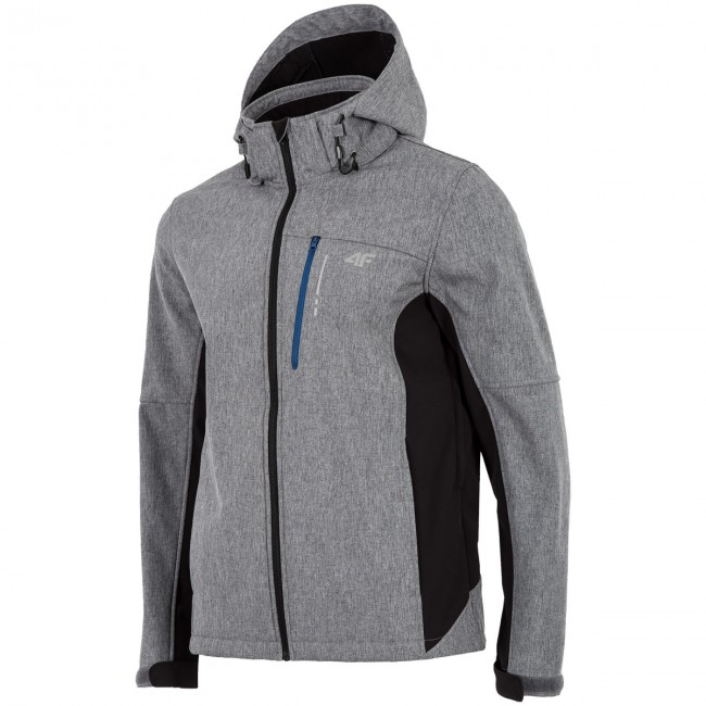 341352b88 4F Buddy, softshell jakke, herre, grå