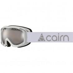 Cairn Booster, skibriller, junior, mat hvid sølv