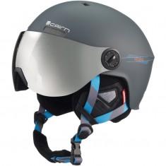 Cairn Eclipse Rescue, skihjelm med Visir, mat grå