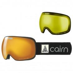 Cairn Gravity, skibriller, mat black gold