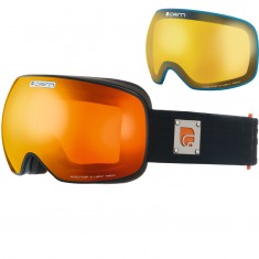Cairn Gravity, skibriller, mat sort/orange