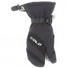 Cold Ischgl, 3 finger skihandsker, sort