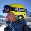 Demon Alpiner skigoggle, sort/rød, Skisport.dk Edition