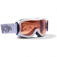 Demon Magic junior skigoggle, hvid