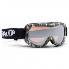 Demon Snow 6 Mirror skibriller, junior, army