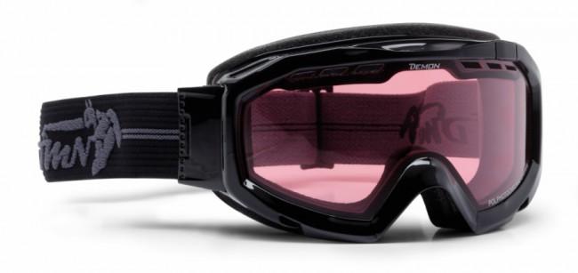 46a2835db Demon Top skibriller, Fotokromisk linse, Sort