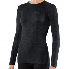 Falke Long Sleeved Shirt Wool-Tech, dame, sort