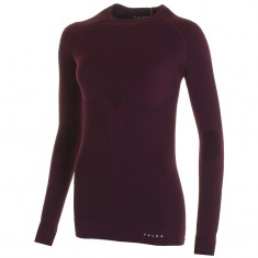 Falke Maximum Warm Longsleeved Shirt Tight Fit, dame, bordeaux