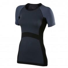 Falke Short Sleeved Shirt, dame, mørkegrå