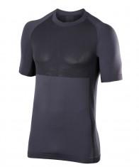 Falke Short Sleeved Shirt, herre, mørk grå