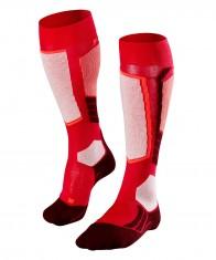 Falke SK2 Wool skistrømper, kvinder, rød