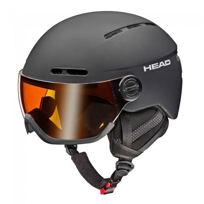 c1c4b7468 HEAD Knight visir skihjelm, sort
