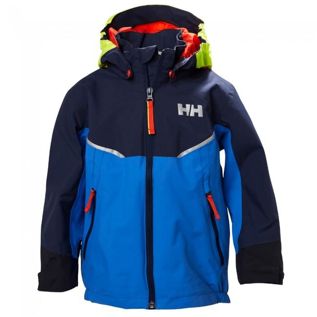f1769e1a Helly Hansen K Shelter, regnjakke, børn, b - Skisport.dk SkiShop