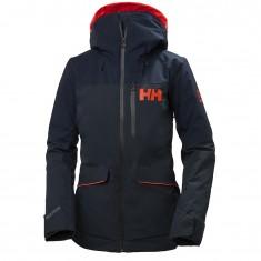Helly Hansen Powchaser Lifaloft skijakke, dame, mørkeblå