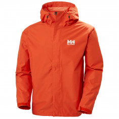 Helly Hansen Seven J, regnjakke, herre, orange