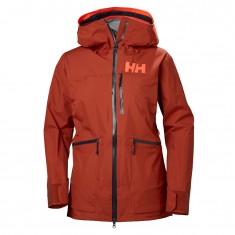 Helly Hansen W Kvitegga Shell Jacket, dame, red brick