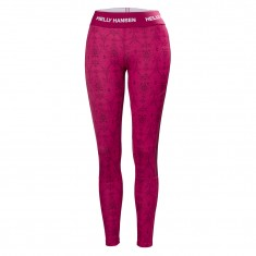 Helly Hansen W Lifa Active Graphic pant, dame, persian red