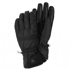 Hestra Primaloft Leather skihandske, dame, sort