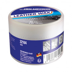 Holmenkol Leather Wax, læderbalsam, 85 ml