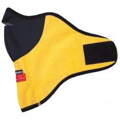 Kama ansigtsmaske, windstopper, gul