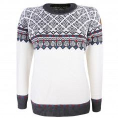 Kama Frida Merino Sweater, dame, hvid