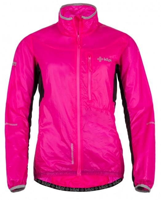 Kilpi Airrunner W Overtræksjakke, pink, dame