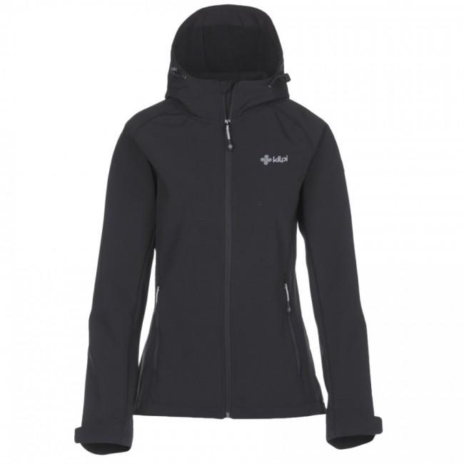 6bd42b4690a Kilpi Elia, softshell jakke, kvinder, sort - Skisport.dk SkiShop