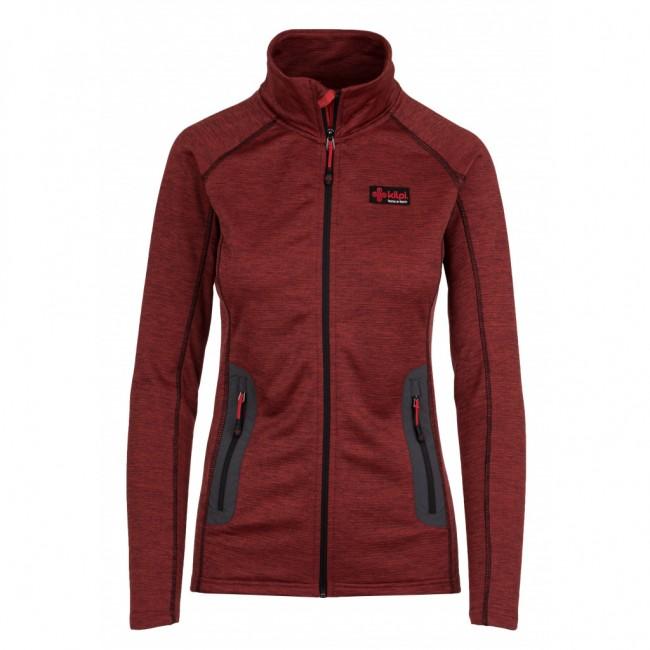 Kilpi Eris, fleece jakke, dame, rød