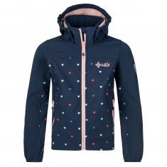 Kilpi Ravia, softshell jakke, junior, mørkeblå