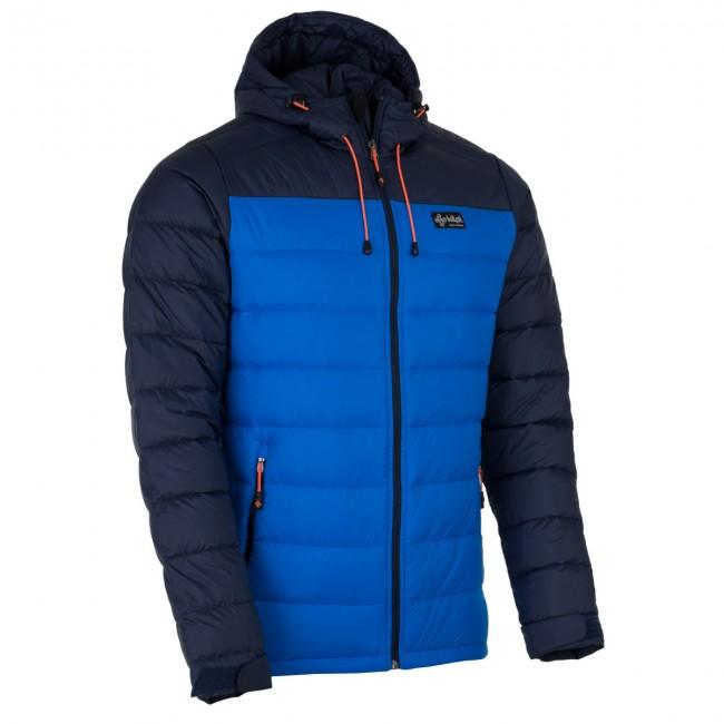 03257305 Kilpi Svalbard-M, dunjakke, herre, blå - Skisport.dk SkiShop