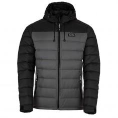 Kilpi Svalbard-M, dunjakke, herre, sort/grå