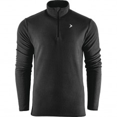 Outhorn Midelo 1/4 zip fleecepulli, herre, sort