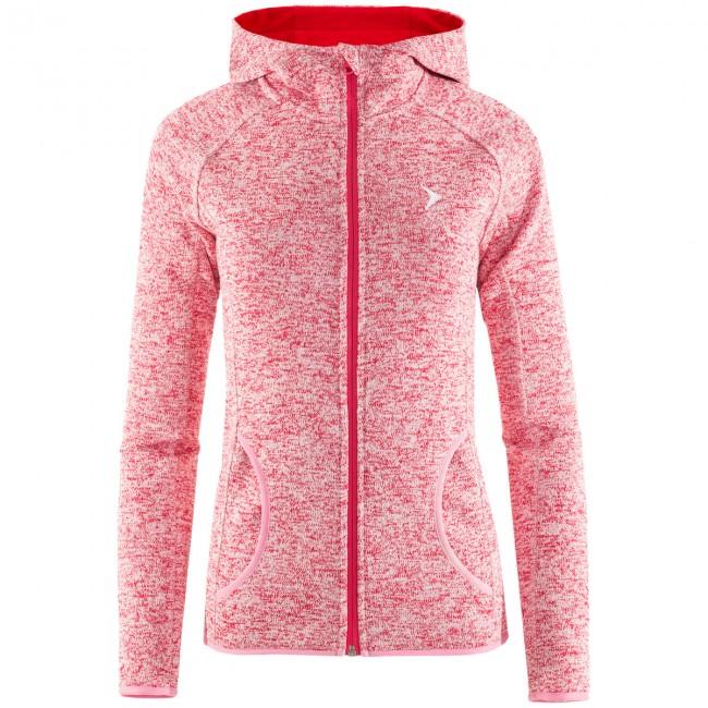 Outhorn Warmy Hoodie, fleece jakke, dame, burgundy