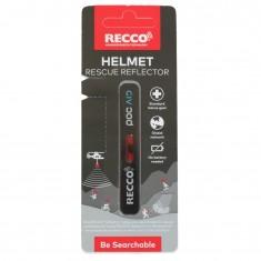 Recco Helmet Rescue, reflector, sort